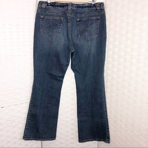 Michael Kors flare denim Sz 12